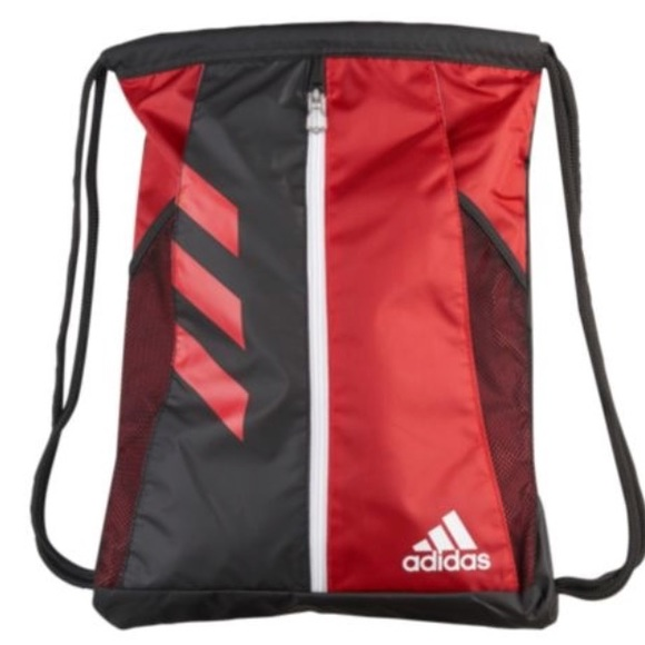 86ba0bbf6a adidas Other - adidas team issue drawstring backpack red black